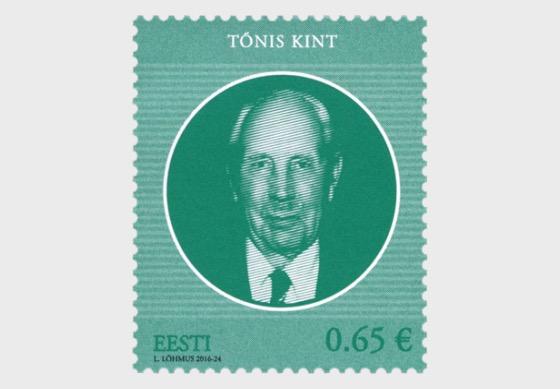 Los jefes de Estado de la República de Estonia - Tõnis Kint 120 - Series