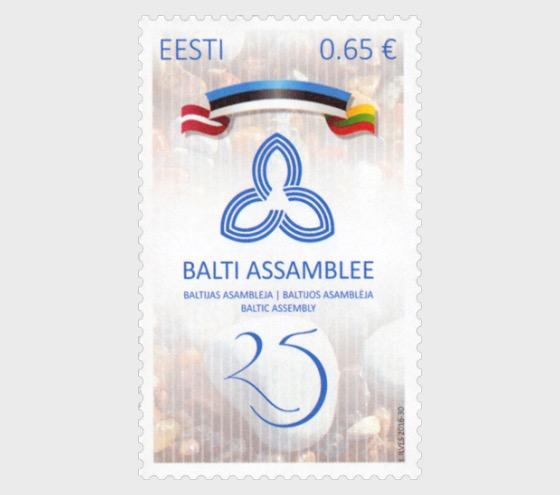 Asamblea Báltica 25. Emisión conjunta Estonia, Letonia y Lituania - Series