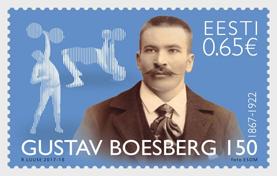 Gustav Boesberg 150 Years - Founder of Estonian Heavy Athletics - Set