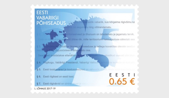 Constitution of the Republic of Estonia 25 years - Set