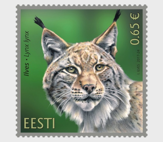 Estonian Fauna - The Lynx - Set