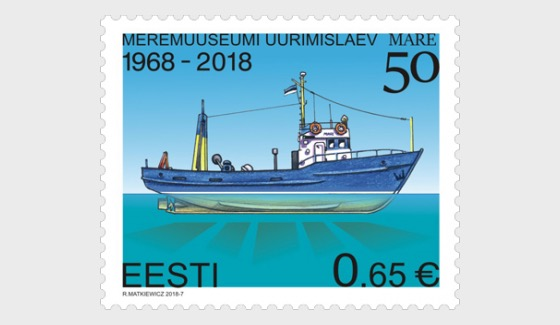 50 Years of the Research Vessel Mare of the Estonian Maritime Museum - Set