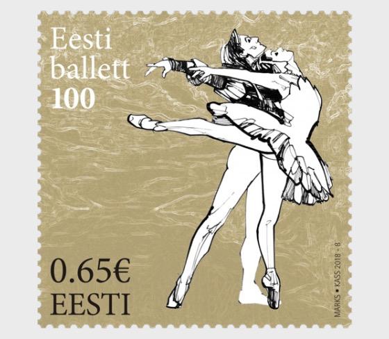 Estonian Ballet 100 Years - Set