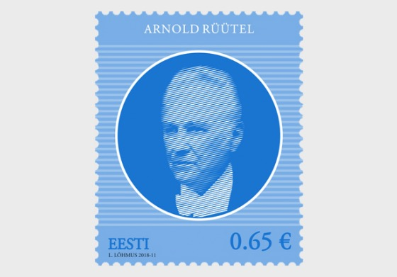 Heads of State of the Republic of Estonia – Arnold Ruutel - Set