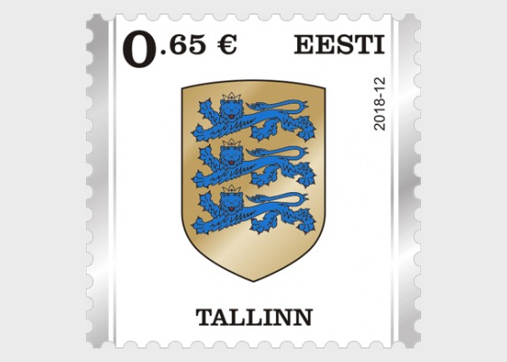 Definitive Stamp - Tallinn - Series