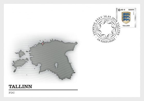 Definitive Stamp - Tallinn - Sobre de Primer Dia