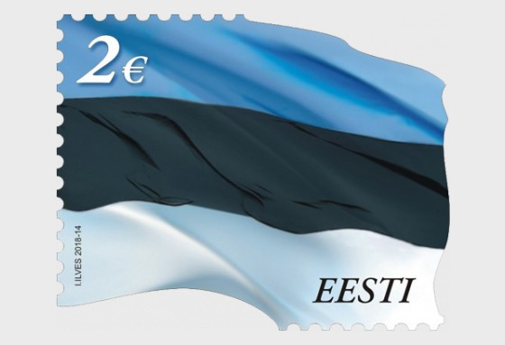 Reprint Estonian Flag - Series