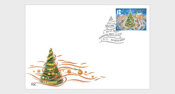 Christmas 2018 - First Day Cover