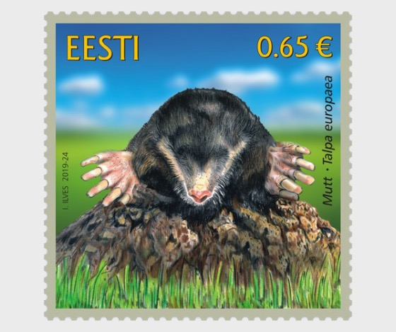 Estonian Fauna – The Mole - Set
