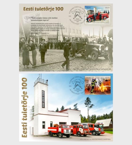 Estonian Fire Fighting 100 - Maxi Cards