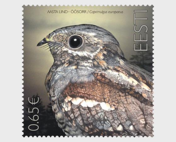年度鸟 - 欧洲夜鹰 - 套票