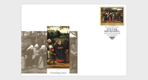 Art - From the Treasury of the Estonian Art Museum - First Day Cover