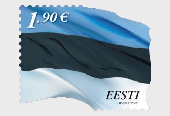 Drapeau Estonien €1.90 - Séries