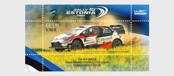 WRC Rally Estonia - Hojas Bloque
