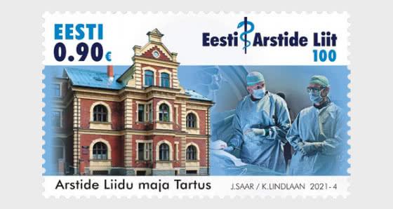 100e Anniversaire De L'association Médicale Estonienne - Séries