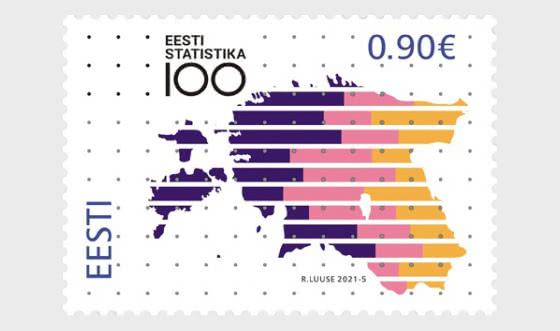 100e Anniversaire Des Statistiques Estoniennes - Séries