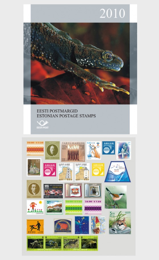2010年全年邮票 - 年度收藏品