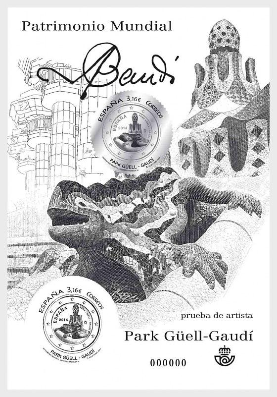Patrimonio Mundial - Park Güell - Gaudí - Coleccionable