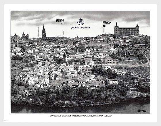 Conjuntos Urbanos Patrimonio de la Humanidad - Toledo - Coleccionable