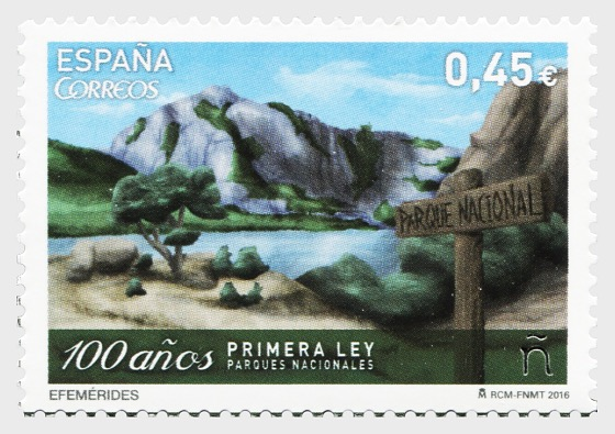100 years of the first Law on National Parks - Set