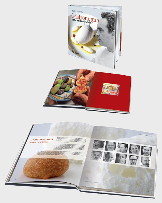 Thematic book gastronomy with stamp spain stamps worldwide thematic book gastronomy with stamp books forumfinder Gallery