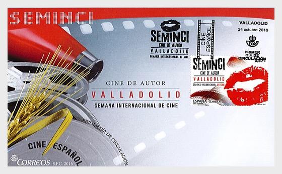 Cine Español - Semana Internacional de Cine de Valladolid - Sobre de Primer Dia