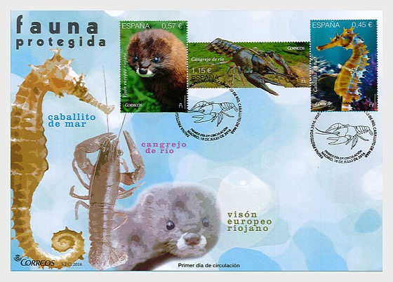 Protected Fauna - First Day Cover