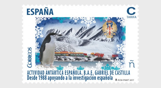 Spanish Antarctic Activity - B.A.E. Gabriel de Castilla - Set