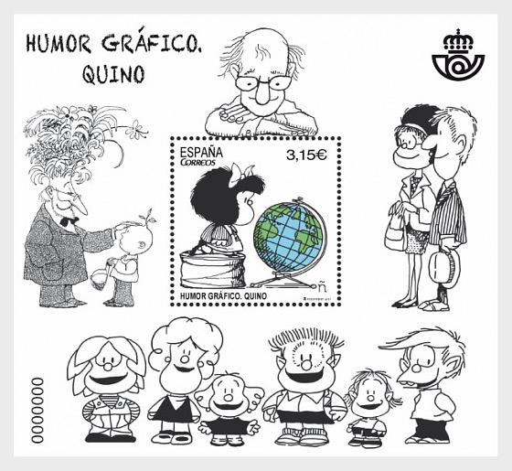 Graphic Humour - Quino - Miniature Sheet