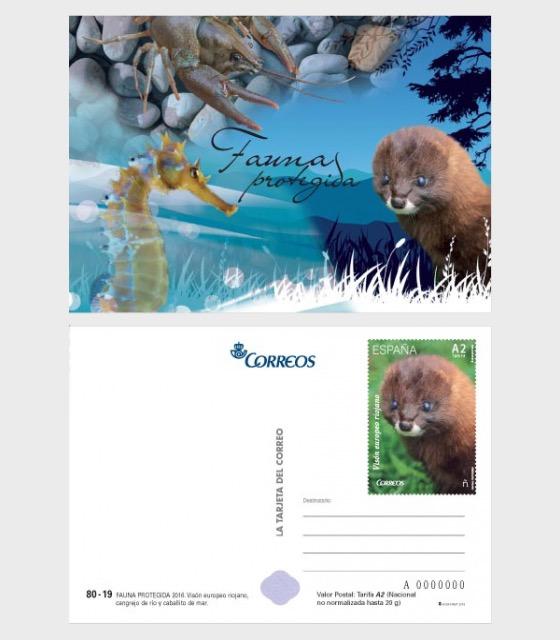 Protected Fauna - Postcard
