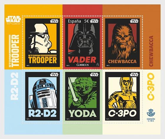 Star Wars - Miniature Sheet