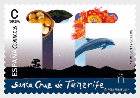 12 months, 12 stamps - Santa Cruz de Tenerife - Set