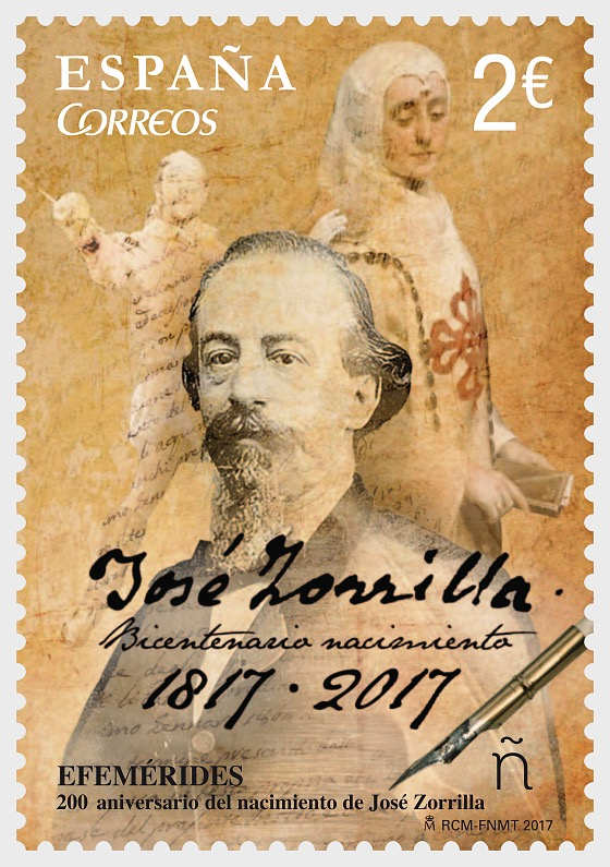 Bicentennial of the birth of José Zorrilla - Set