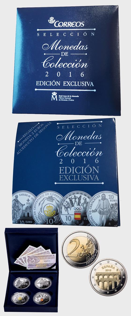 Collection exclusive de pièces d'argent 2016 - Piece de l'annee