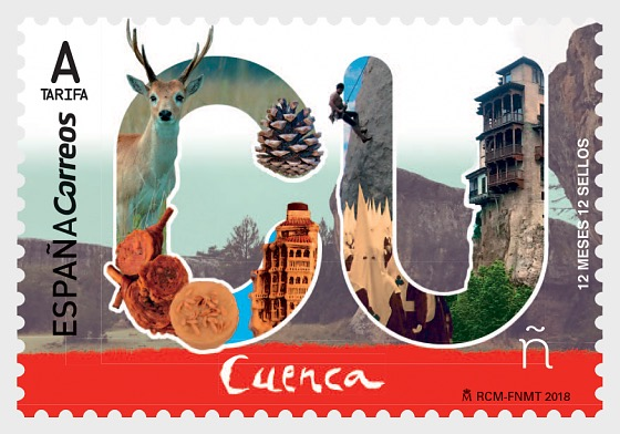 12 Months, 12 Stamps - Cuenca - Set