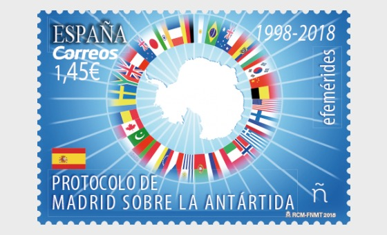 Ephémérides - Protocole de Madrid sur l'Antarctique 1998-2018 - Séries