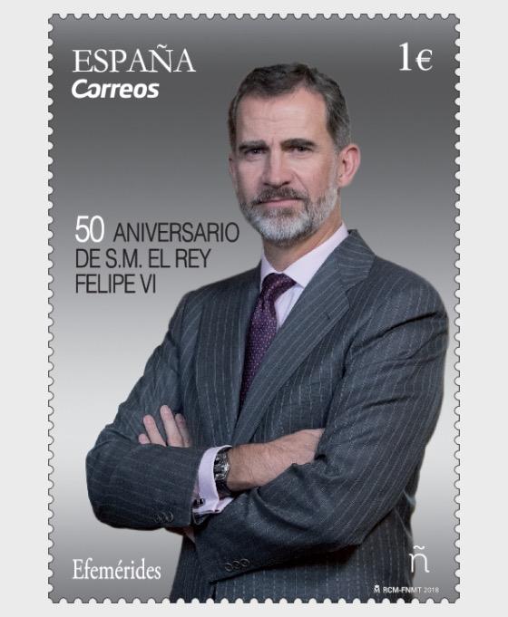 50th Anniversary Roi Felipe VI - Séries