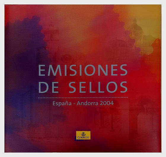 2004 Year Book Spain & Andorra - Year Collections