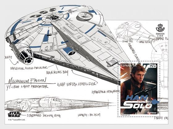 Cinema, Star Wars, Han Solo - Miniature Sheet
