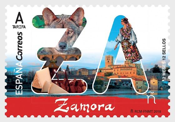 12 Months, 12 Stamps - Zamora - Set