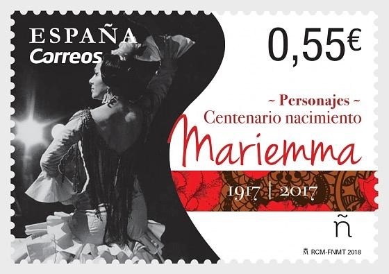 Characters - Centenary of the Birth of Mariemma - Set