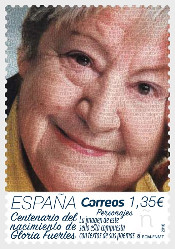 100th Anniversary of the Birth of Gloria Fuertes - Set