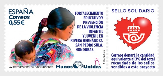 Civic Values - NGO, Donations, (Manos Unidas) - Set