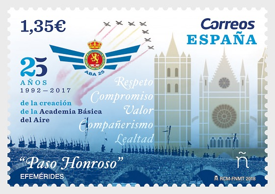 25th Anniversary of the creation of the Basic Air Academy - Set