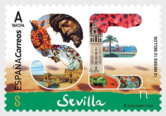 12 Meses, 12 Sellos - Sevilla - Series