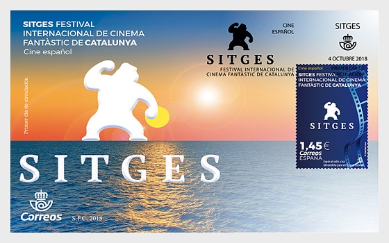 Sitges Film Festival - First Day Cover