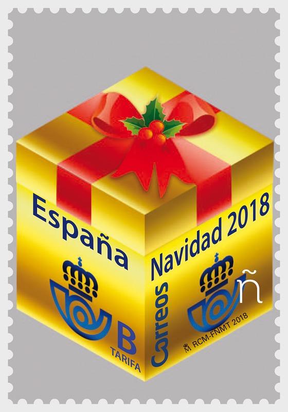 2018年圣诞节 - 礼品包装 - 套票