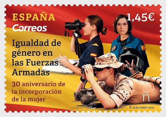 Igualdad de género en las Fuerzas Armadas - Series