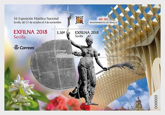 Exfilna 2018 - Sevilla - Hojas Bloque