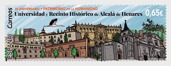 World Heritage - Alcala de Henares University and Historic District - 套票
